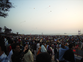 Crowds at the Mangalore Festival